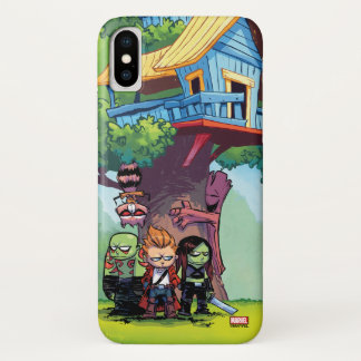 Guardians of the Galaxy | Crew & Treehouse iPhone X Case