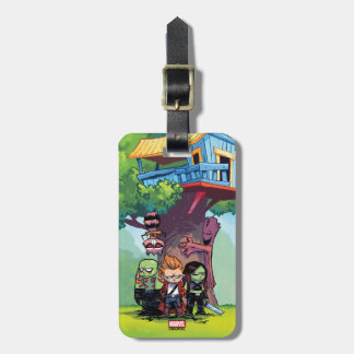 Guardians of the Galaxy   Crew & Treehouse Luggage Tag