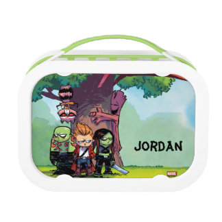 Guardians of the Galaxy | Crew & Treehouse Lunch Box