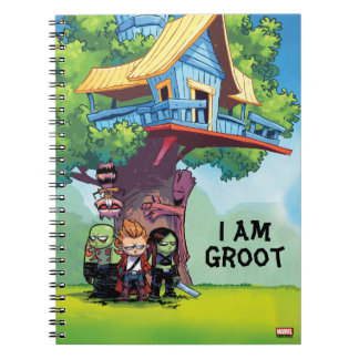 Guardians of the Galaxy | Crew & Treehouse Notebooks