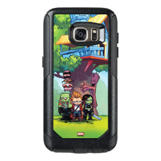 Guardians of the Galaxy | Crew & Treehouse OtterBox Samsung Galaxy S7 Case