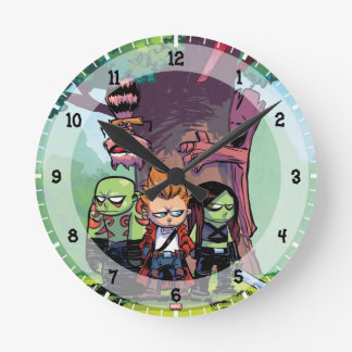 Guardians of the Galaxy | Crew & Treehouse Round Clock