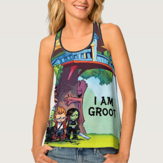 Guardians of the Galaxy   Crew & Treehouse Singlet