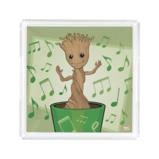 Guardians of the Galaxy | Dancing Baby Groot Acrylic Tray