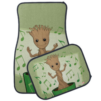 Guardians of the Galaxy | Dancing Baby Groot Car Mat