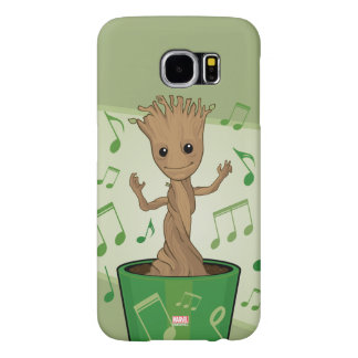 Guardians of the Galaxy | Dancing Baby Groot Samsung Galaxy S6 Cases