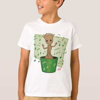 Guardians of the Galaxy | Dancing Baby Groot T-Shirt