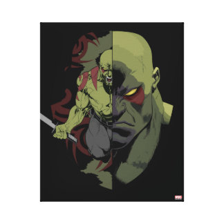 Guardians of the Galaxy   Drax Close-Up Graphic Canvas Print