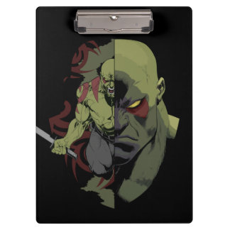 Guardians of the Galaxy | Drax Close-Up Graphic Clipboards