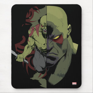 Guardians of the Galaxy | Drax Close-Up Graphic Mouse Pad