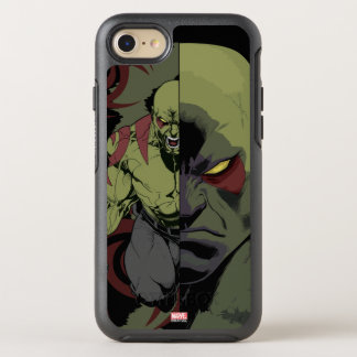 Guardians of the Galaxy | Drax Close-Up Graphic OtterBox Symmetry iPhone 8/7 Case