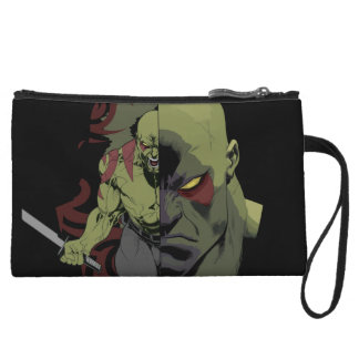 Guardians of the Galaxy | Drax Close-Up Graphic Wristlet Purses