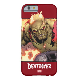 Guardians of the Galaxy | Drax In Flames Barely There iPhone 6 Case