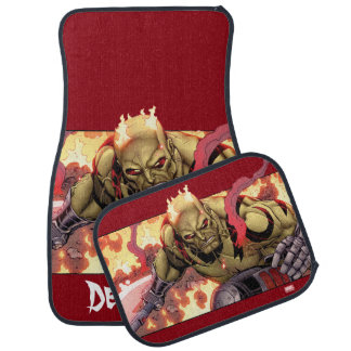 Guardians of the Galaxy | Drax In Flames Car Mat