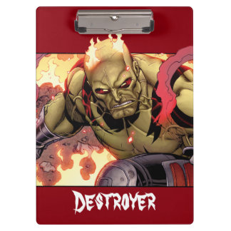 Guardians of the Galaxy | Drax In Flames Clipboard