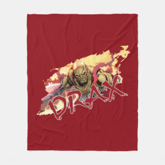 Guardians of the Galaxy | Drax In Flames Fleece Blanket