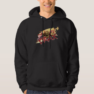 Guardians of the Galaxy | Drax In Flames Hoodie