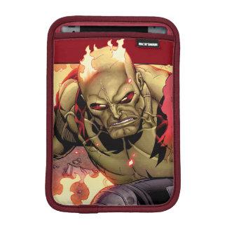 Guardians of the Galaxy   Drax In Flames iPad Mini Sleeve