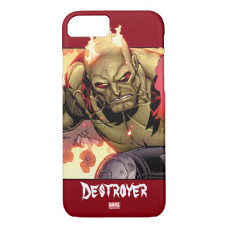 Guardians of the Galaxy | Drax In Flames iPhone 8/7 Case