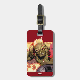 Guardians of the Galaxy | Drax In Flames Luggage Tag