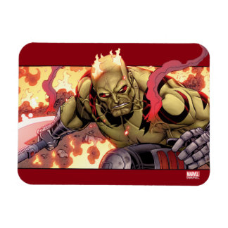 Guardians of the Galaxy | Drax In Flames Magnet