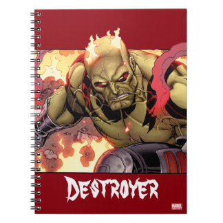 Guardians of the Galaxy | Drax In Flames Notebook