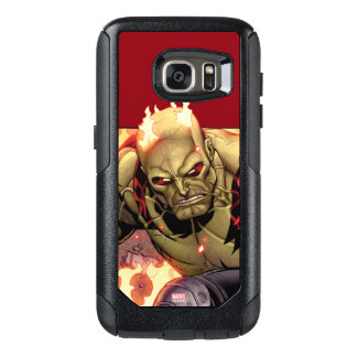 Guardians of the Galaxy | Drax In Flames OtterBox Samsung Galaxy S7 Case