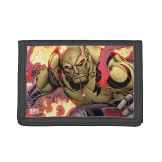 Guardians of the Galaxy | Drax In Flames Trifold Wallet