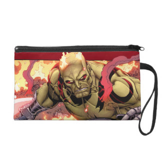 Guardians of the Galaxy   Drax In Flames Wristlet Purses