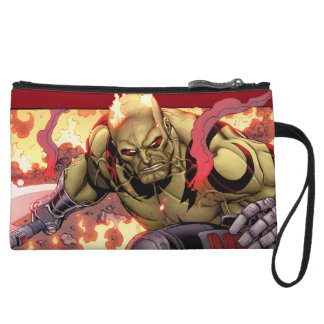 Guardians of the Galaxy   Drax In Flames Wristlets