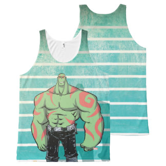 Guardians of the Galaxy | Drax Mugshot All-Over Print Singlet