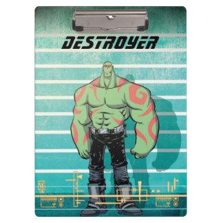 Guardians of the Galaxy | Drax Mugshot Clipboard