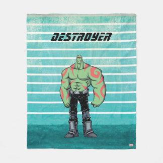 Guardians of the Galaxy | Drax Mugshot Fleece Blanket