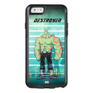 Guardians of the Galaxy | Drax Mugshot OtterBox iPhone 6/6s Case