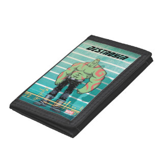 Guardians of the Galaxy | Drax Mugshot Tri-fold Wallet