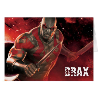 Guardians of the Galaxy | Drax With Daggers Card