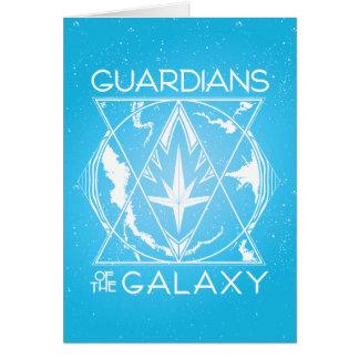 Guardians of the Galaxy | Galactic Logo Badge Card