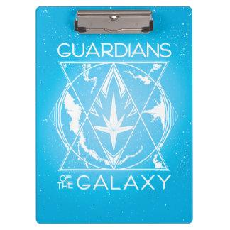 Guardians of the Galaxy | Galactic Logo Badge Clipboard