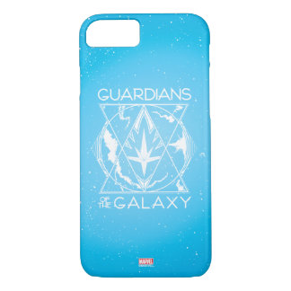 Guardians of the Galaxy | Galactic Logo Badge iPhone 8/7 Case