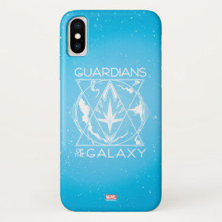 Guardians of the Galaxy | Galactic Logo Badge iPhone X Case