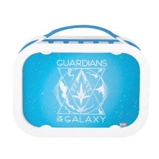 Guardians of the Galaxy | Galactic Logo Badge Lunch Box