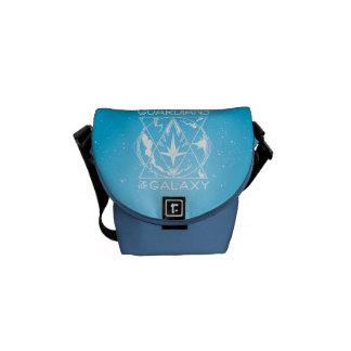 Guardians of the Galaxy | Galactic Logo Badge Messenger Bag