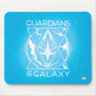 Guardians of the Galaxy | Galactic Logo Badge Mouse Pad