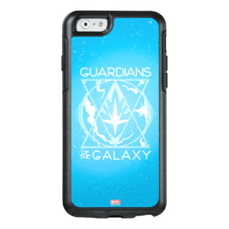 Guardians of the Galaxy   Galactic Logo Badge OtterBox iPhone 6/6s Case