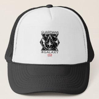 Guardians of the Galaxy | Galactic Logo Badge Trucker Hat