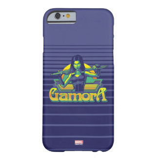 Guardians of the Galaxy | Gamora Cartoon Badge Barely There iPhone 6 Case