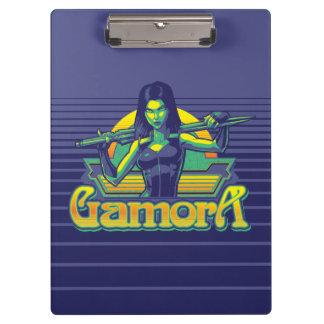 Guardians of the Galaxy | Gamora Cartoon Badge Clipboard