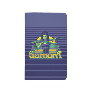 Guardians of the Galaxy | Gamora Cartoon Badge Journal