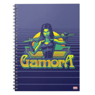 Guardians of the Galaxy | Gamora Cartoon Badge Notebooks
