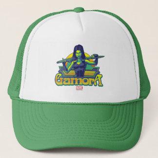 Guardians of the Galaxy | Gamora Cartoon Badge Trucker Hat